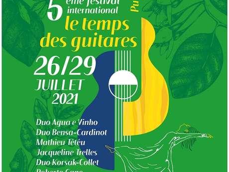 Festival le Temps des Guitares : Soirée Brésilienne