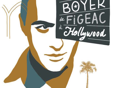 Exposition Charles Boyer, de Figeac à Hollywood