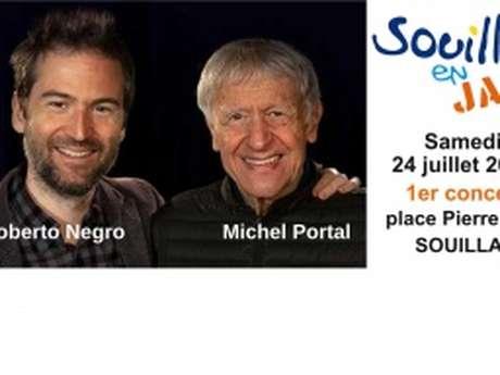 Michel Portal  et Roberto Negro- Souillac en Jazz