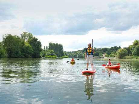 1-HOUR STAND-UP PADDLEBOARD FOR FAMILIES