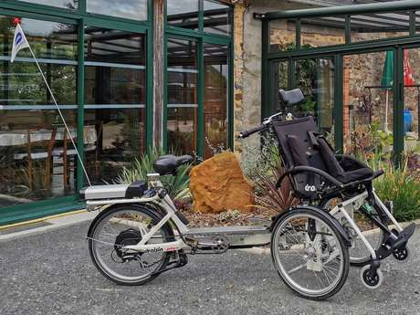 RENTAL AND DELIVERY OF LOMO WHEELS, PUSH BIKES WITH ELECTRICAL ASSISTANCE AND LAUNCHING CHAIRS FOR PEOPLE WITH REDUCED MOBILITY