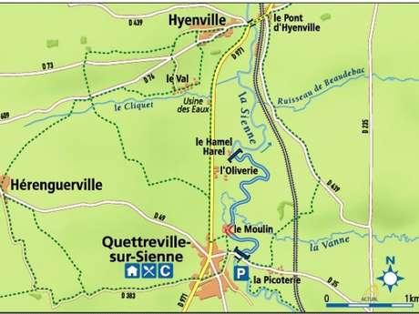 La Sienne à Quettreville