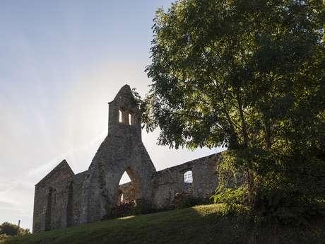 Visite de la vieille église avec M. Helye