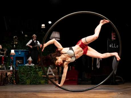 """Festival des arts du Cirque Second Geste : """"De A à Zèbre"""""""