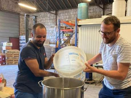 Expérience Granville Terre & Mer : Brassez votre bière à l'Ecume des Falaises