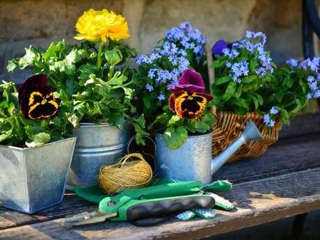 Atelier jardinage au Jardin Retiré