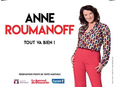 Spectacle Anne Roumanoff « Tout va bien ! »