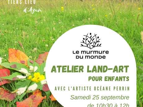 Land-Art pour enfants avec l'artiste Océane Perrin