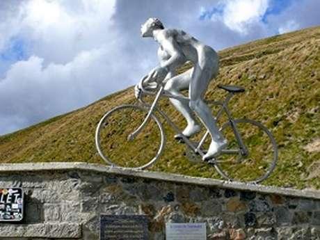 La montée du Géant du Tourmalet