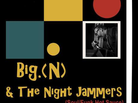 """Concert avec le groupe """"Big n & night jammers"""""""