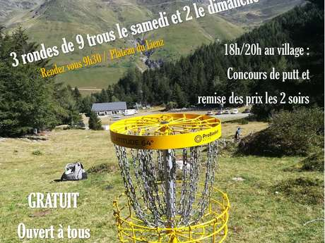 Tournoi de Disc Golf