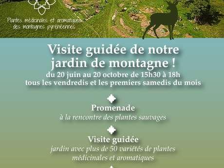 VISITE GUIDEE DE NOTRE JARDIN DE MONTAGNE