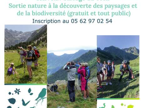 Sortie nature à la découverte des paysages et d ela biodiversité