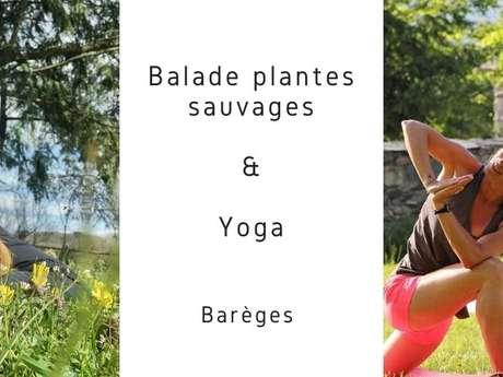 BALADE PLANTES SAUVAGES & YOGA