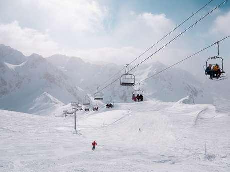 STATION DE SKI GRAND TOURMALET, BARÈGES-LA MONGIE