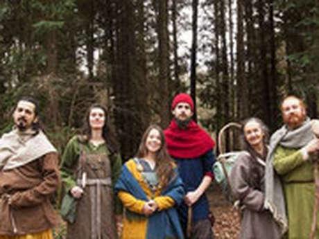 Atelier artisanat et campement viking