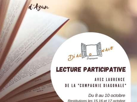 Stage de Lecture participative au Tiers-lieu d'Azun