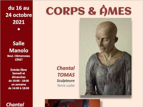 "EXPOSITION ""CORPS & ÂMES"" PAR LES ARTISTES CHANTAL TOMAS ET PASCAL GIRARD"