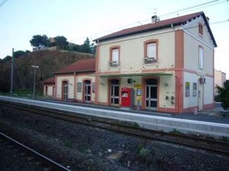 GARE SNCF DE BANYULS SUR MER