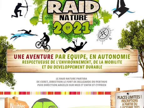 """""""RAID NATURE 2021"""" PROPOSÉ PAR LE SERVICE INTERCOMMUNAL JEUNESSE VALLESPIR"""