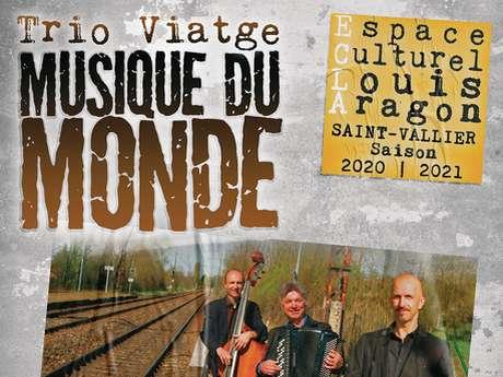 "Concert ""Trio Viatge"", musique du monde"