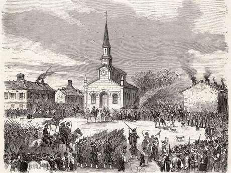 La Commune, Le Creusot 1871