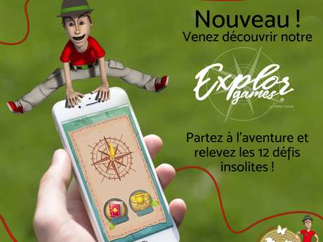 Explor'Games® à Diverti'Parc