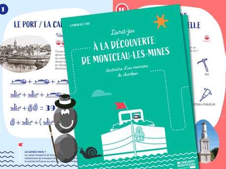 """Livret-jeu """"À la découverte de Montceau-les-Mines"""""""