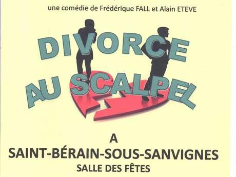 Théâtre : Divorce au scalpel
