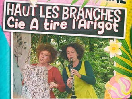 """L'été vitaminé - Théâtre """"Haut les branches"""""""