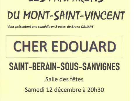 Théâtre : Cher Édouard
