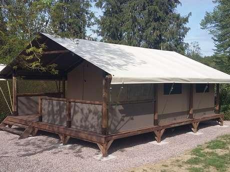 Lodges au camping du sans souci