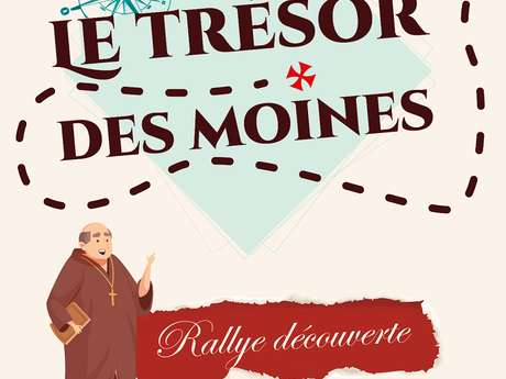 """RALLYE-DÉCOUVERTE """"TRÉSOR DES MOINES"""""""