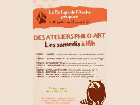 ATELIERS PHILO-ART POUR LES ENFANTS