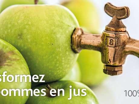 JOURNÉE PRESSAGE DE JUS DE POMME ET ANIMATIONS CITROUILLES