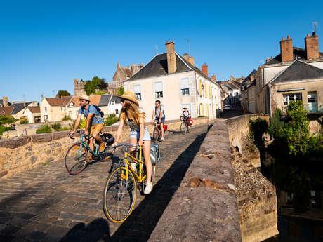 la vélobuissonnière : fresnay-sur-sarthe < > beaumont-sur-sarthe
