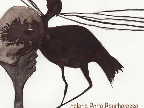 """EXPOSITION DE KLERVI BOURSEUL """"ANIMAL TOTEM"""""""