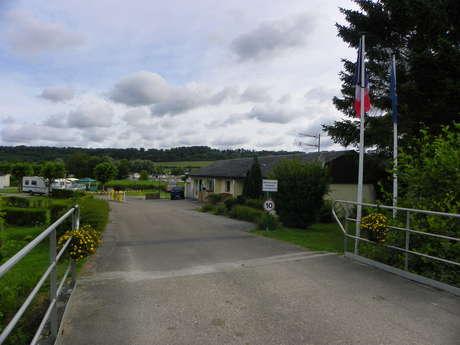 Aire de stationnement et de service du Camping des 2 Rivières