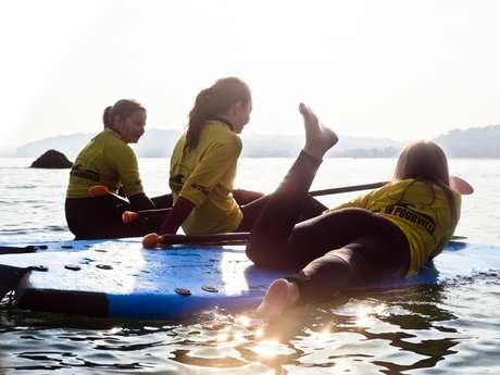 Une expérience à partager : le paddle géant à Pourville-sur-Mer