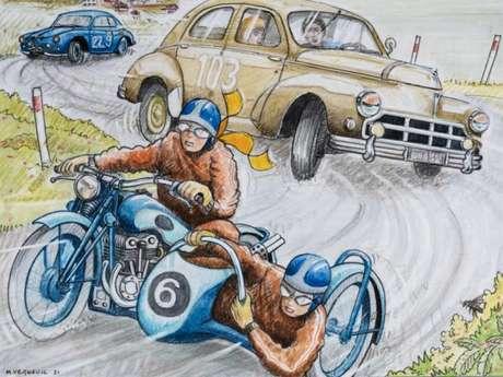 [Montée historique] 1re Classic Auto-Moto de Pourville