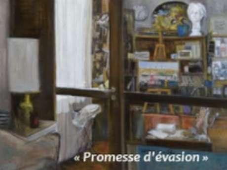 [Exposition de peinture] Corinne Quibel · Promesse d'évasion