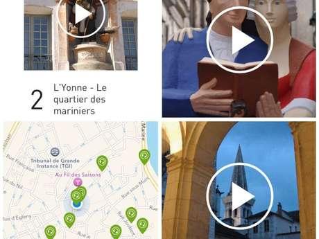 Auxerre audio-guidée dans votre smartphone