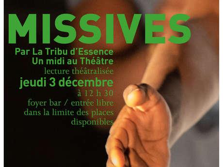 Midi au Théâtre : Missives