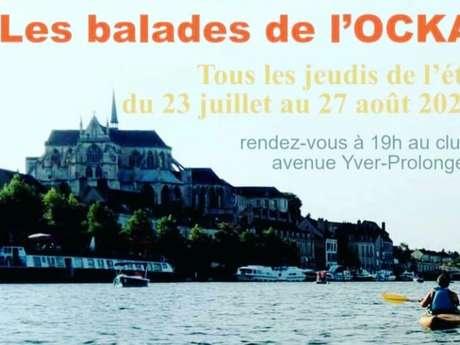 Les balades de l'Olympique Canoë Kayak Auxerrois