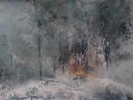 Exposition de peinture acrylique de Marie-Christine Mourey