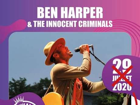 FESTIVAL DE CARCASSONNE - BEN HARPER ET THE INNOCENT CRIMINALS