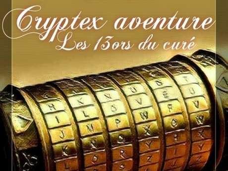 """JEU DE PISTE CRYPTEX AVENTURE """"LES 13 ORS DU CURÉ"""""""