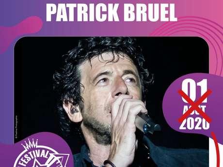 FESTIVAL DE CARCASSONNE - PATRICK BRUEL