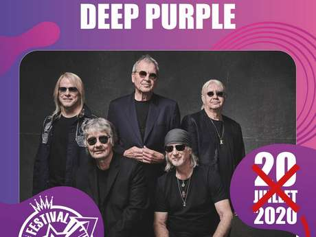 FESTIVAL DE CARCASSONNE - DEEP PURPLE