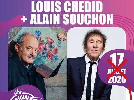 FESTIVAL DE CARCASSONNE - LOUIS CHÉDID ET ALAIN SOUCHON